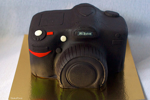Nikon Camera Birthday Cake - Creative Cake Designs