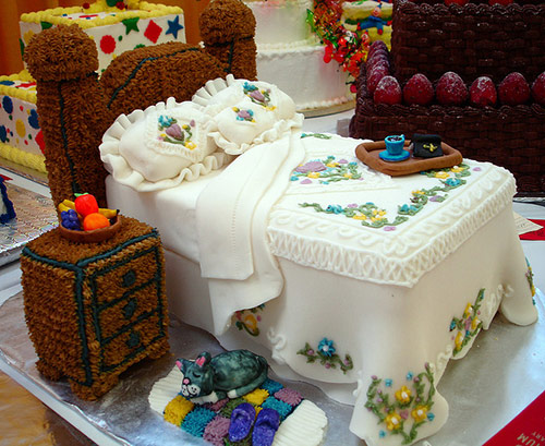 Bed Cake - Creative Cake Designs