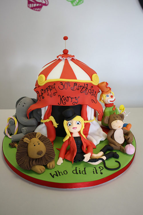 30 cake circus theme in 40 Creative Cake Designs Which Will Make You Look Twice