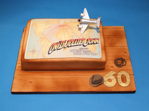 Indiana Jones 60th Cake - Creative Cake Designs