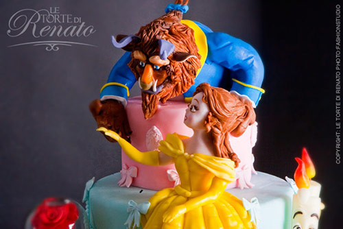 Cake Design: The Beauty and The Beast - Creative Cake Designs