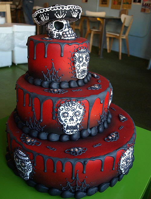 Day of the Dead Cake - Creative Cake Designs