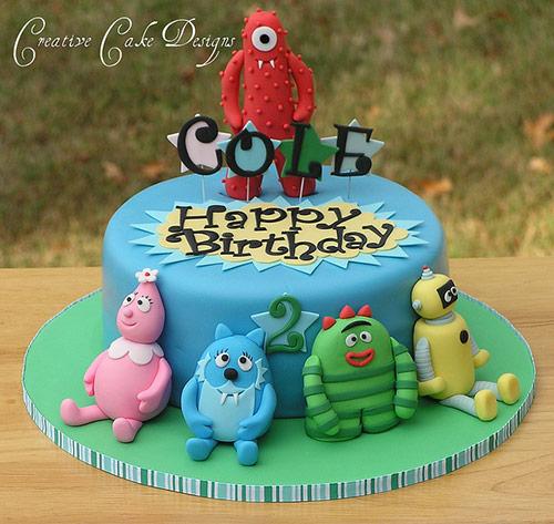 Yo Gabba Gabba! - Creative Cake Designs