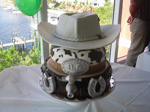 7 cowboy cake in 40 Creative Cake Designs Which Will Make You Look Twice