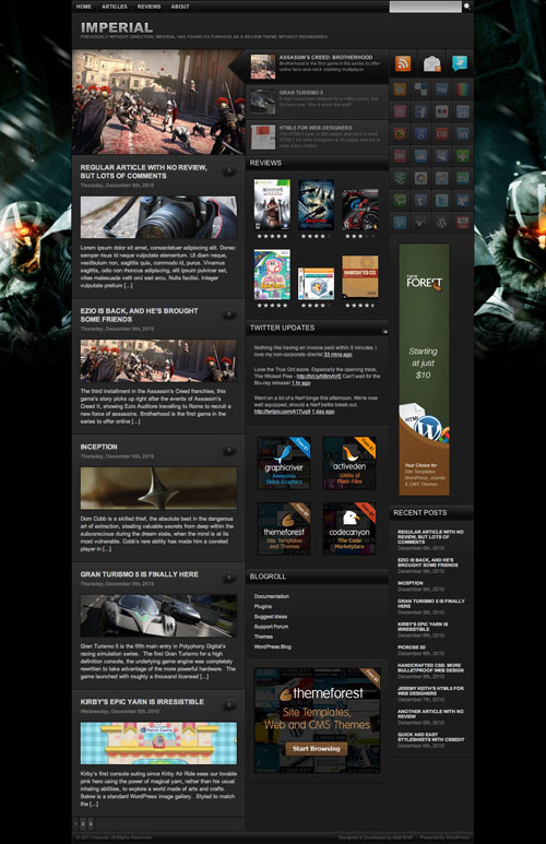 Imperial - Great Magazine WordPress Theme - great magazine wordpress themes