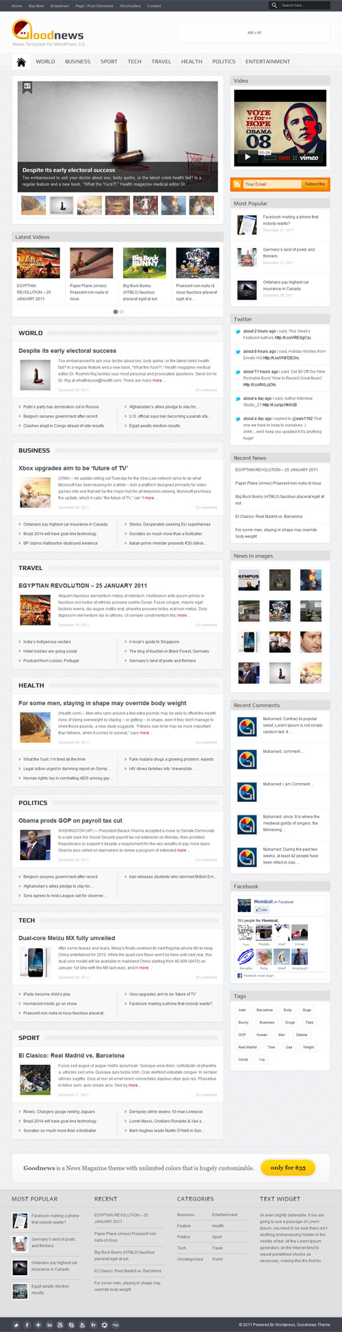 Goodnews – Premium WordPress News/Magazine - great magazine wordpress themes