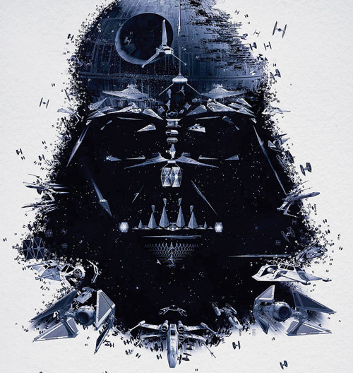 Darth Vader Detail - Star Wars Identities