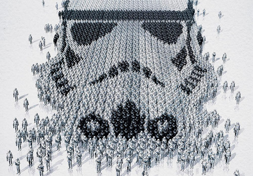 Stormtrooper Detail - Star Wars Identities