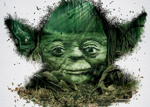 Yoda Detail - Star Wars Identities