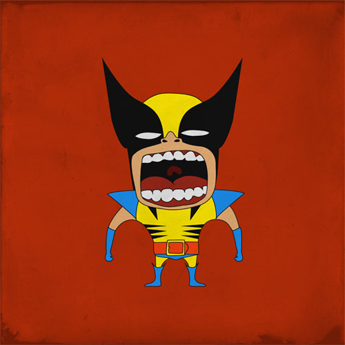Screaming Superheroes