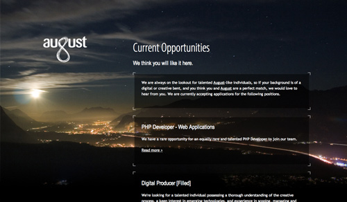 Cool Landscape Backgrounds in Website Design