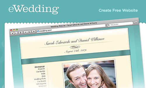 Create Wedding Website for Free