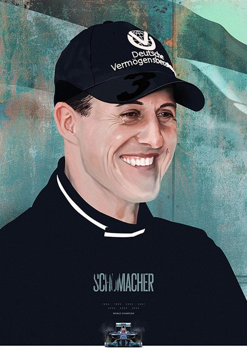 Formula 1 Heroes Portraits