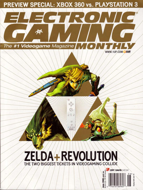 Electronic Gaming Monthly (EGM) Best Game Magazine Covers