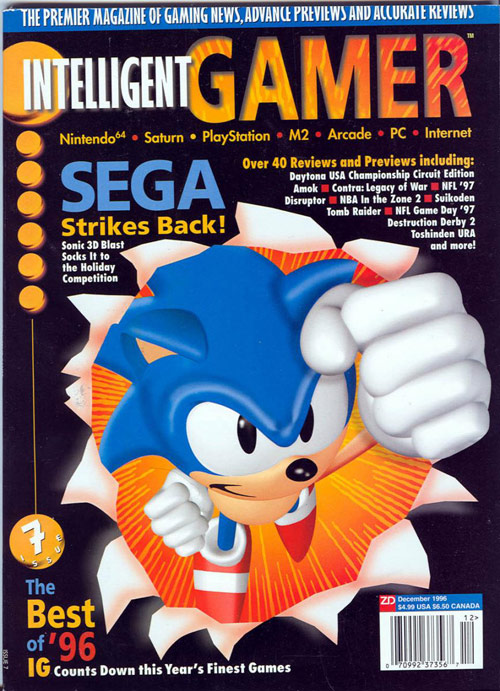 Intelligent Gamer Games Magazine Cover