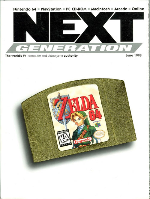 Next Generation Games Magazine Cover