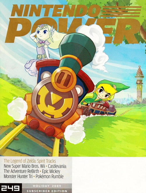Nintendo Power Magazine Cover