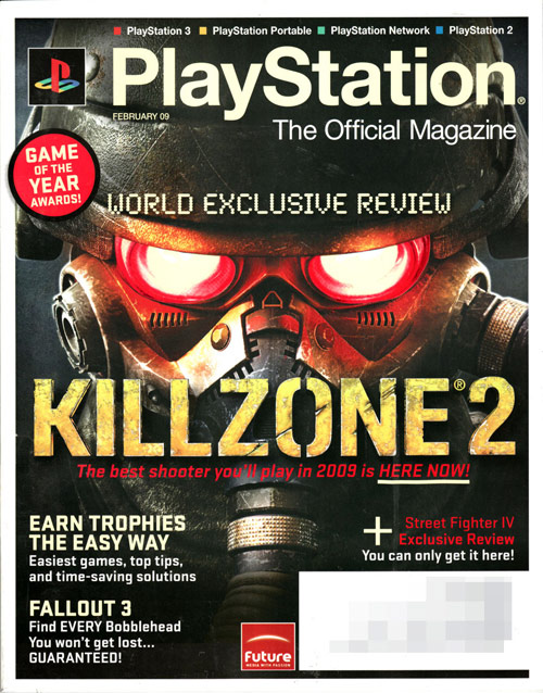 PlayStation Game Magazine Cover