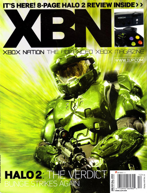 XBN Game Magazine Cover