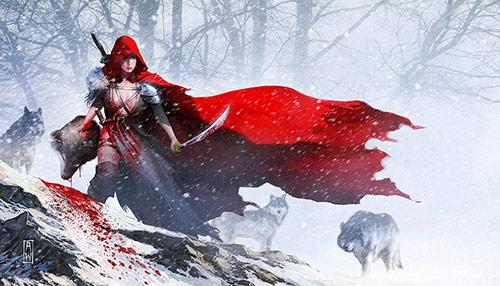 red riding hood artworks