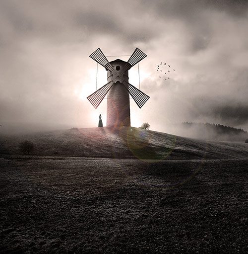 surreal photo manipulations