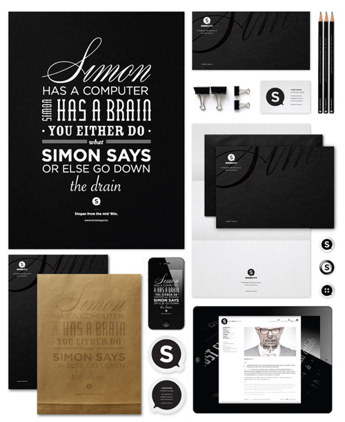 Simon Says - Corporate Identity 2012