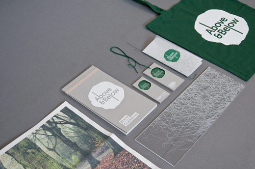 ABOVE & BELOW - Branding for a Tree Museum