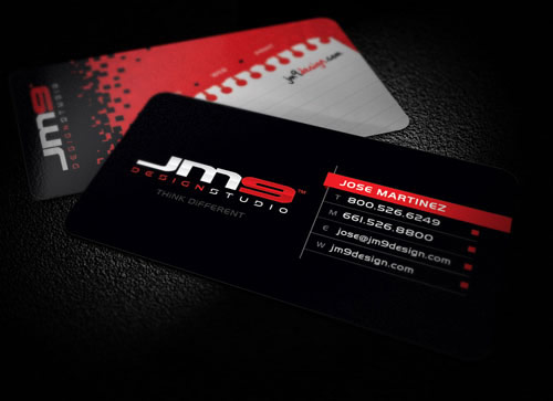 Business Card for JM9 Design Studio