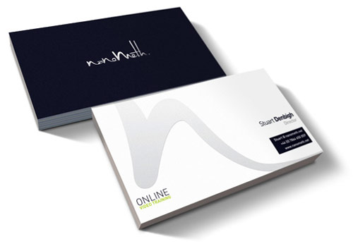 Nanometh Brand Business Cards