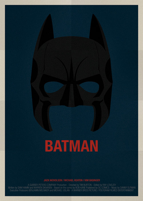 Batman - famous movie posters