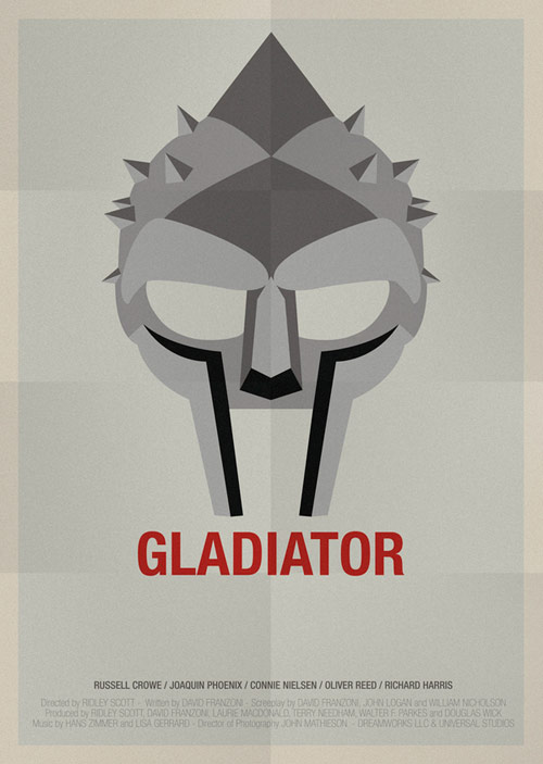 Gladiator - famous movie posters
