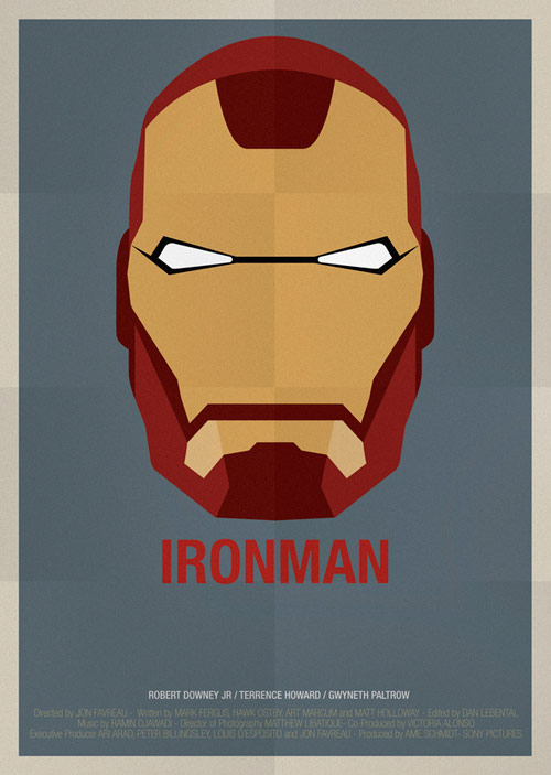 Ironman - famous movie posters