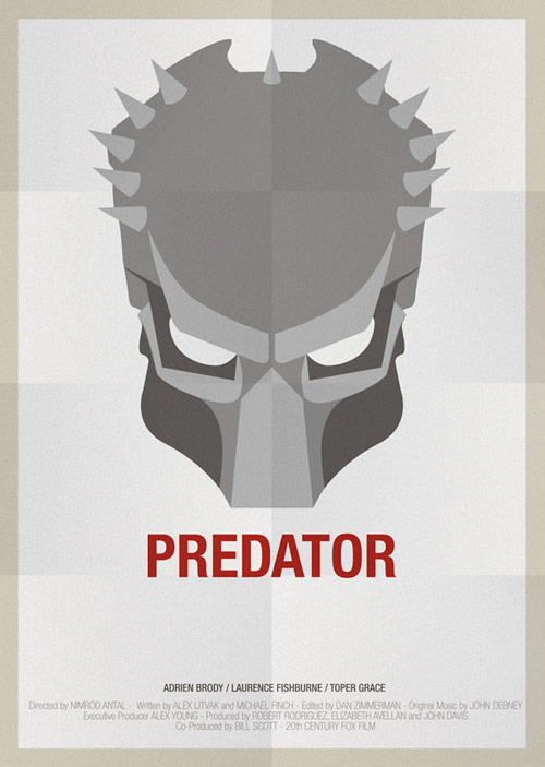 Predator - famous movie posters