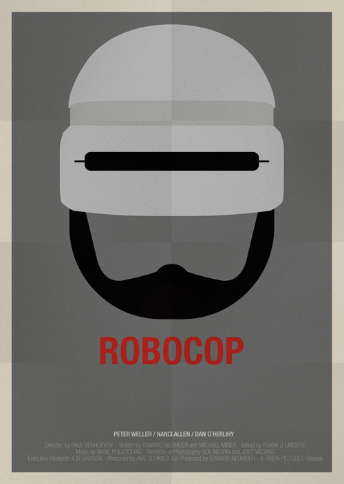 Robocop - famous movie posters