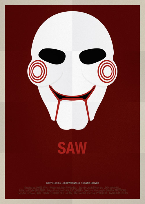 SAW - famous movie posters