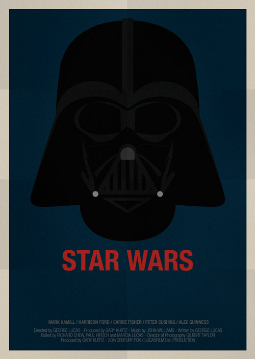 Star Wars - famous movie posters