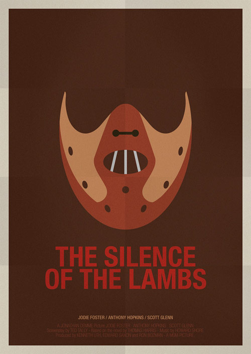 The Silence of the Lambs - famous movie posters