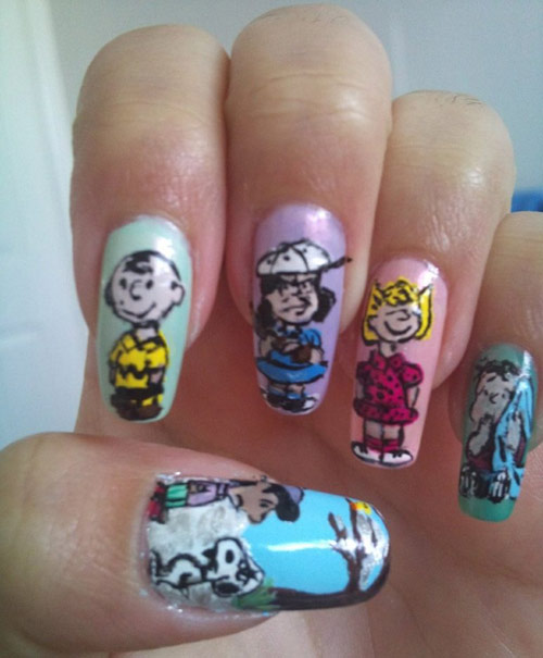 35 creative nail art designs boost inspiration nail art designs prinsesfo Gallery
