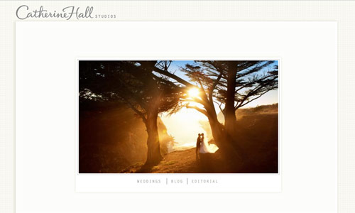 Image of Catherine Hall Website