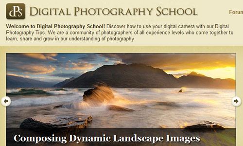Image of Digital Photography School Website