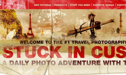 Image of Trey Ratcliff Website