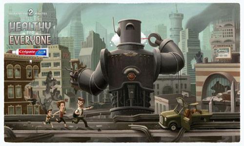 Colgate: Robot