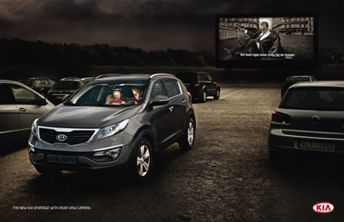 Kia Motors: Drive-in