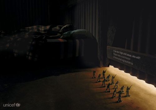 Unicef: Toy soldiers