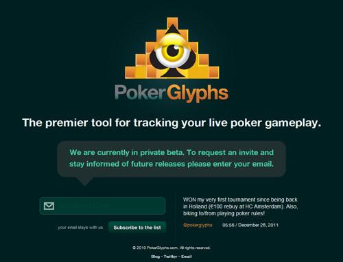 Poker Glyphs