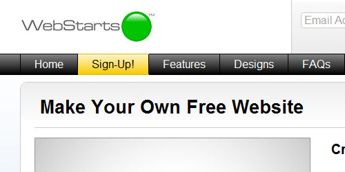 Webstarts - Best Free Website Builders