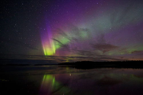 northern lights or aurora borealis pictures