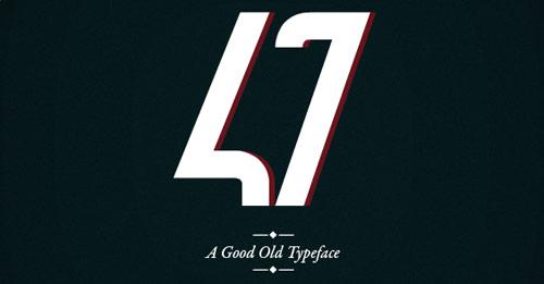 47 Free Typeface