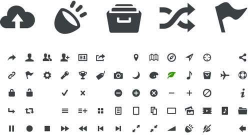 Entypo Pictograms
