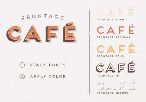 Frontage Typeface - Free Font